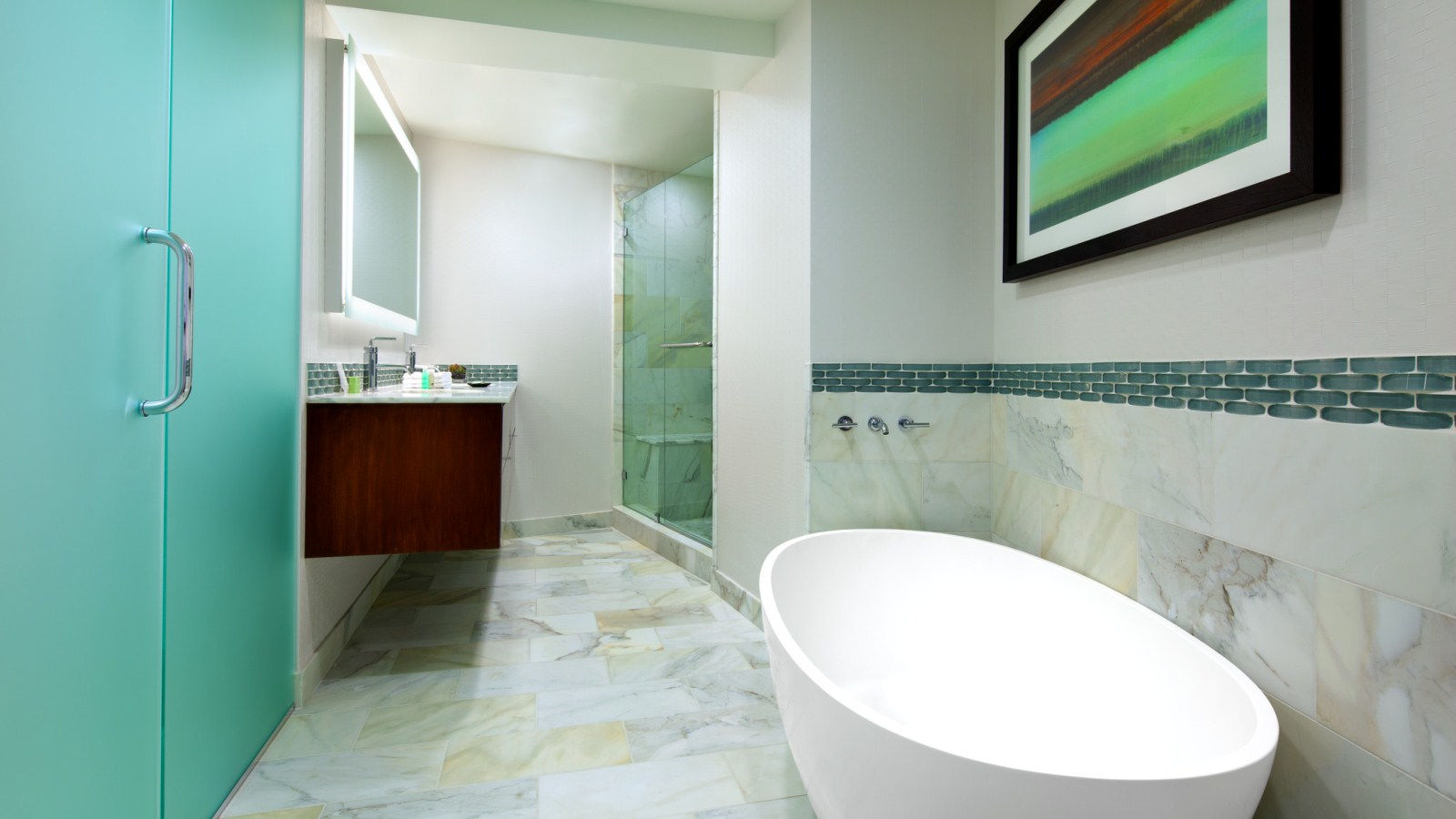 In Room Spa Services -  Suite Bathroom