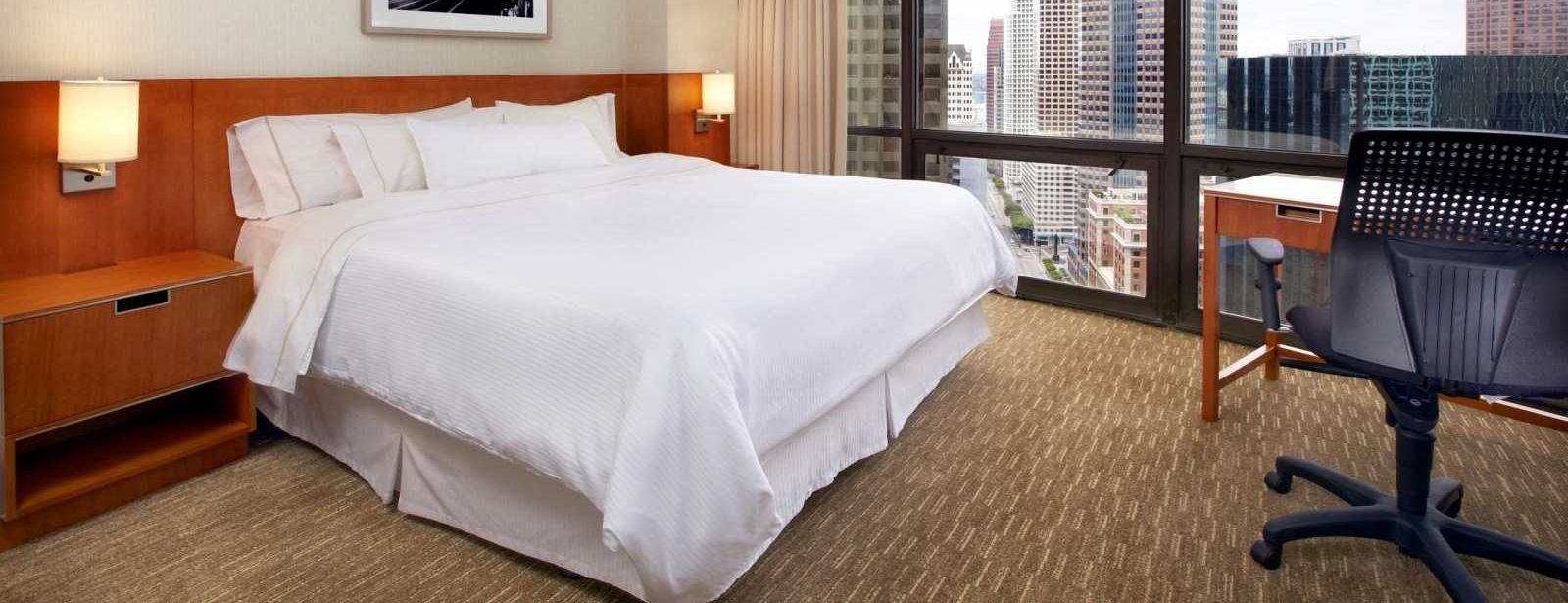 Downtown Los Angeles Accommodation -  Grand View Room